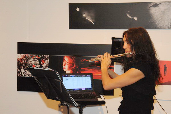 Musikalische Begleitung der Vernissage von ...