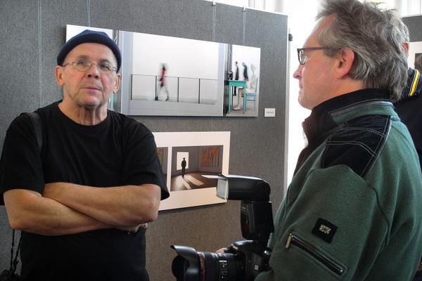 Fachsimpeln: Detlev Motz und Manfred Köhler