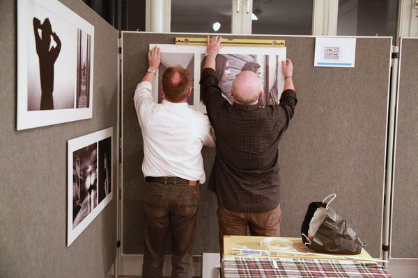 Teamarbeit bei den Fotofreunden