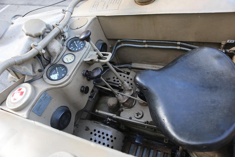 Details des NSU KettenKrad HK101.