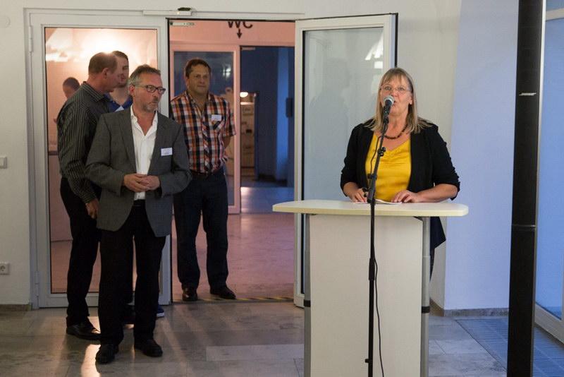 Grußwort von der stellvertretenden Landrätin Frau Ulrike Hitzler