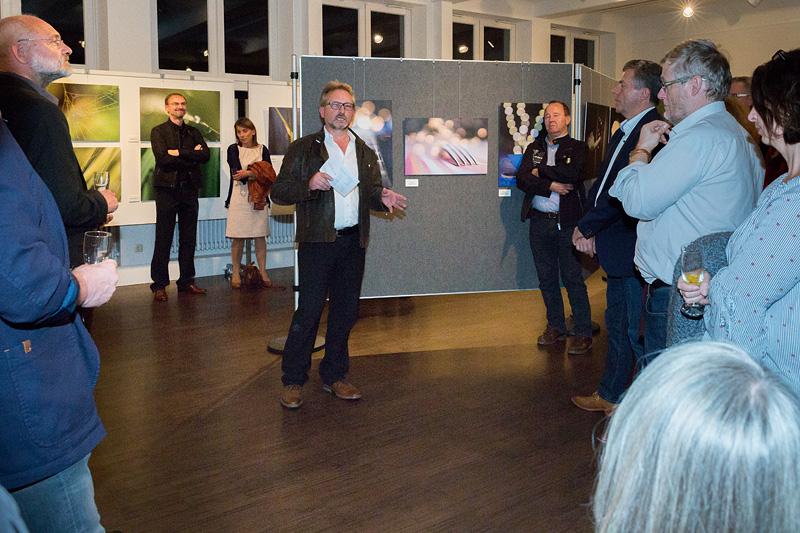 1. Vorsitzender Manfred Köhler begrüsst unsere Gäaste.
