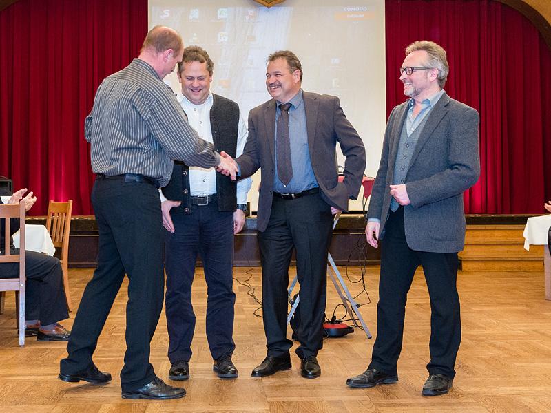Im Namen des ganzen Clubs sagt Norbert Gehrmann Danke an unsere Vorstandsmannschaft für deren tolle Arbeit für den Club.