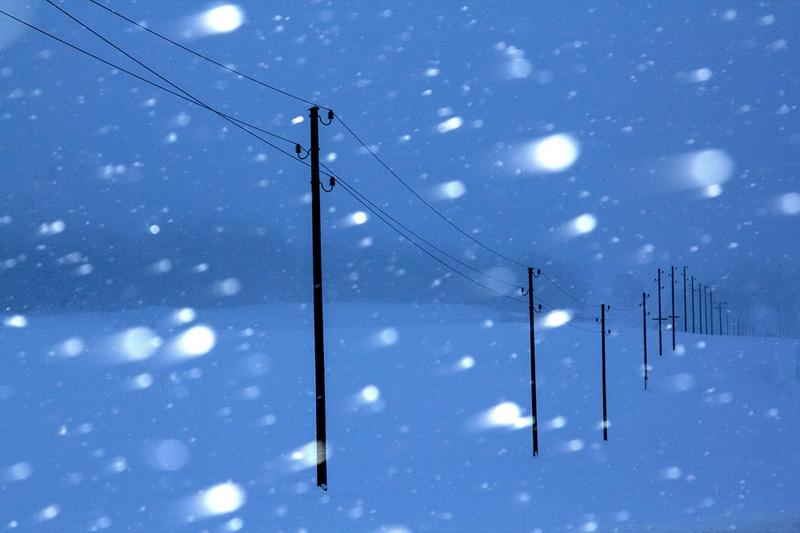 Just Günther: Schneetreiben (Medaille)