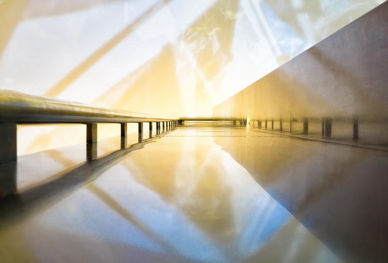 Peter Hildebrand - handrail sky - (Medaille)